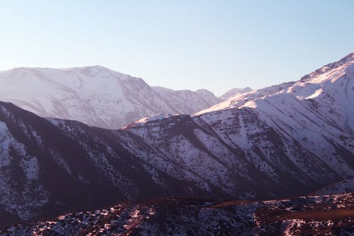 Kostnadsfri bild av berg, bergskedja, snö, snötäckta berg