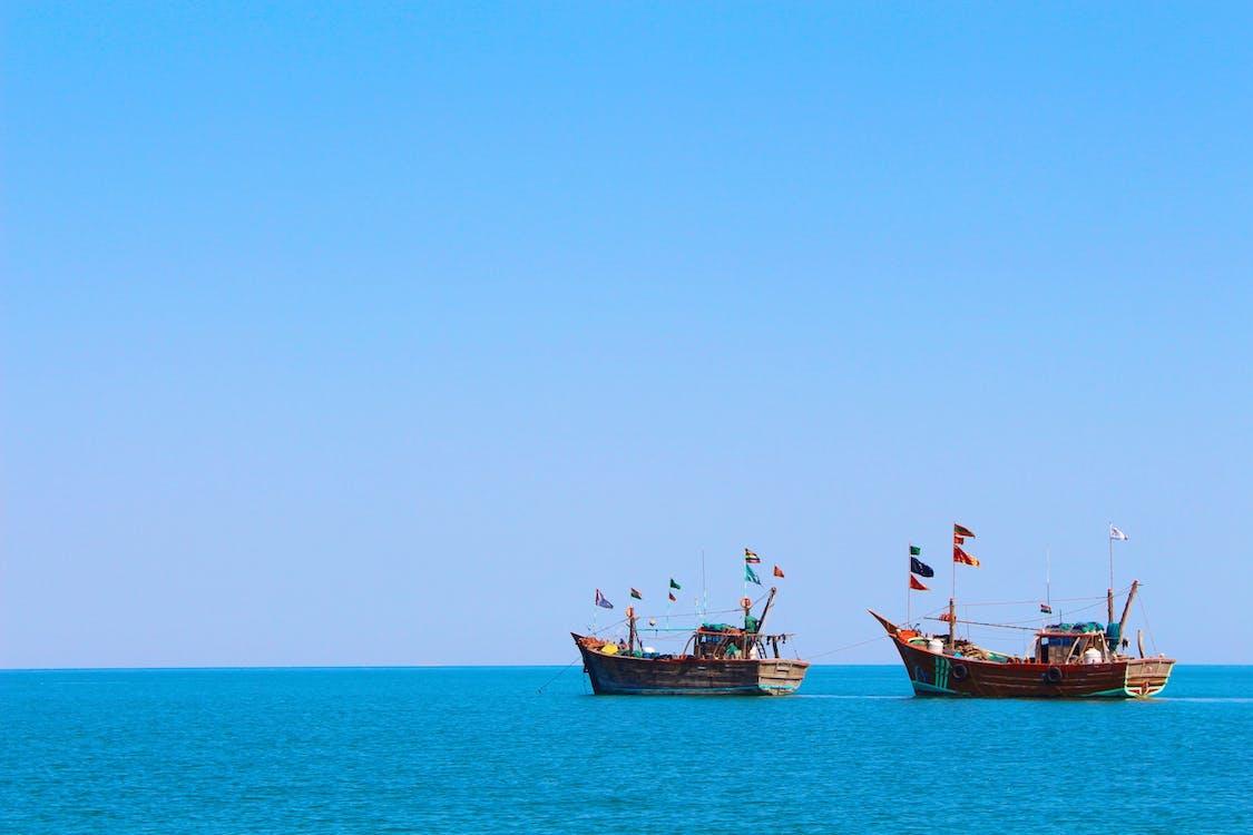 agua, al aire libre, barcos