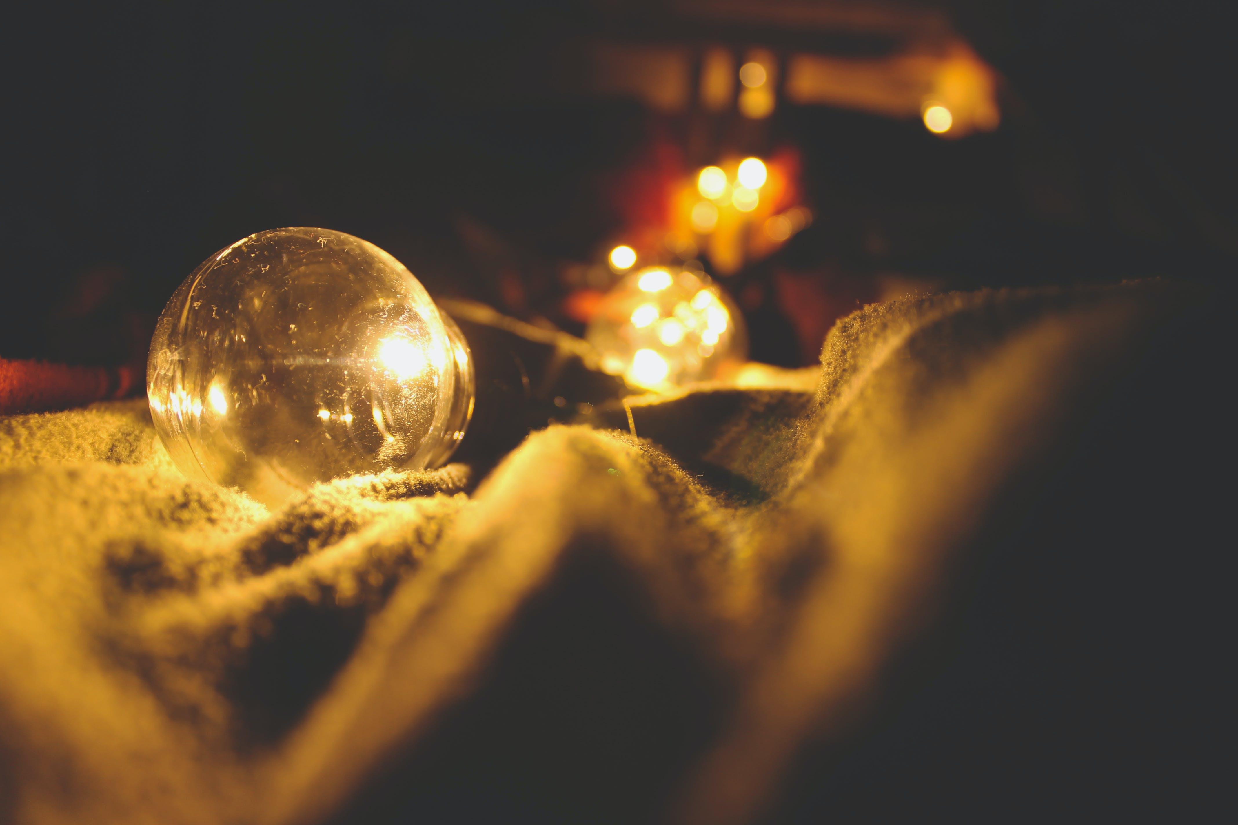 Kostenloses Stock Foto zu beleuchtet, beleuchtung, bokeh, decke