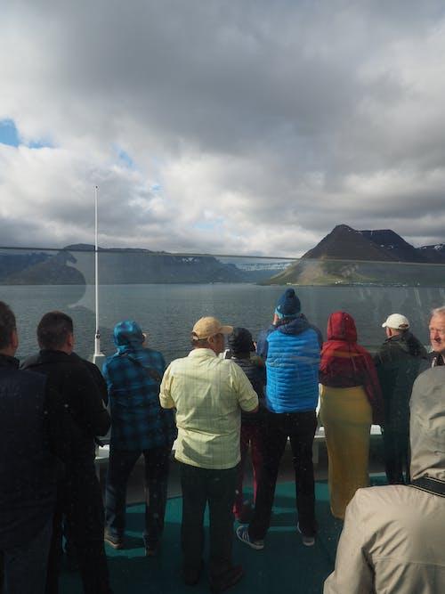 アイスランド, クルーズ船, 人の無料の写真素材
