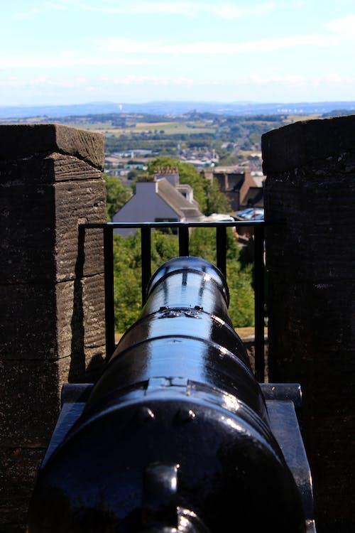 Foto d'estoc gratuïta de antic canó., Canon, castell, escocès històric