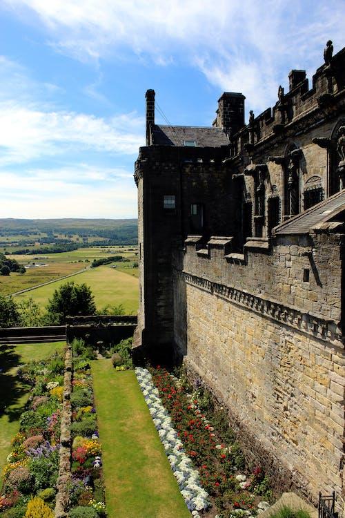 Foto d'estoc gratuïta de antic castell, castell, castell estrident, escocès històric