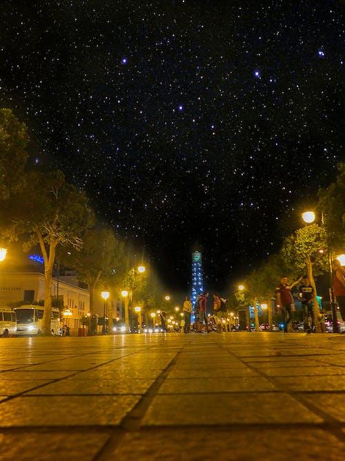 城市, 星系, 看著, 非洲族裔 的 免費圖庫相片