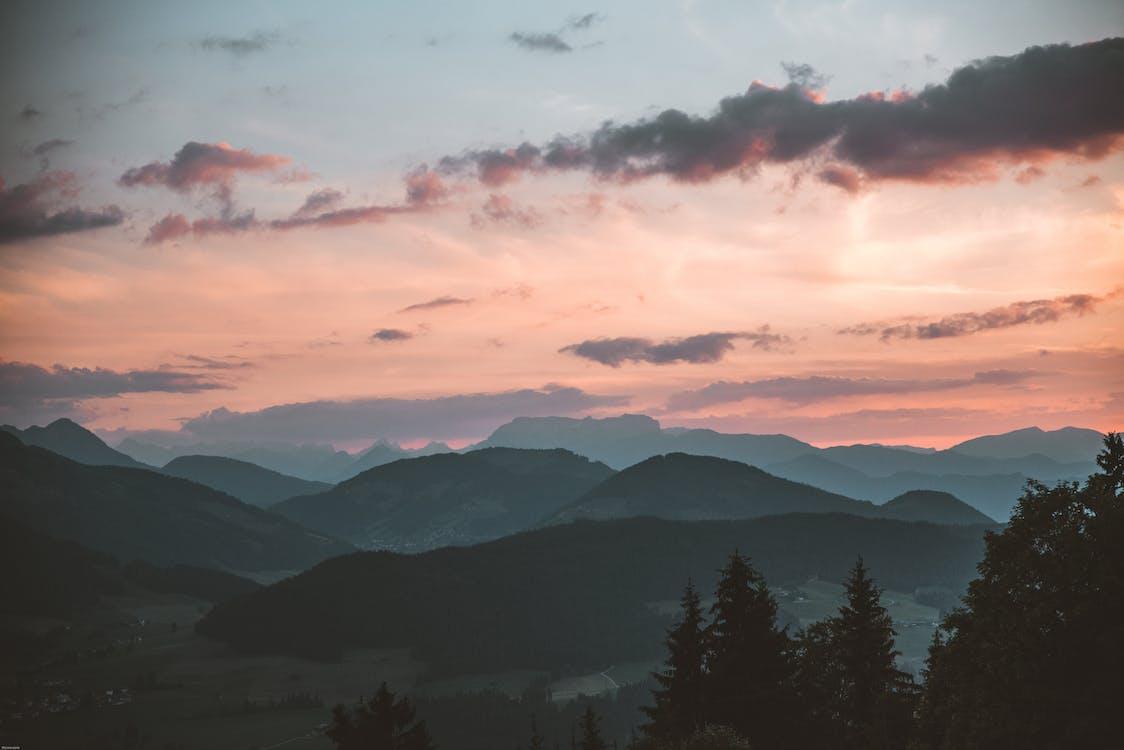 4k-baggrund, baggrund, bjerge