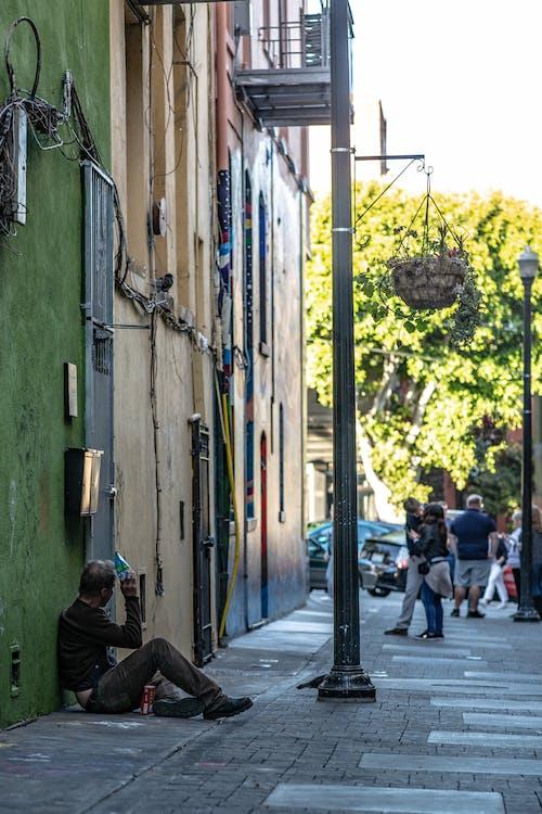 Kostenloses Stock Foto zu obdachlos, obdachlosigkeit