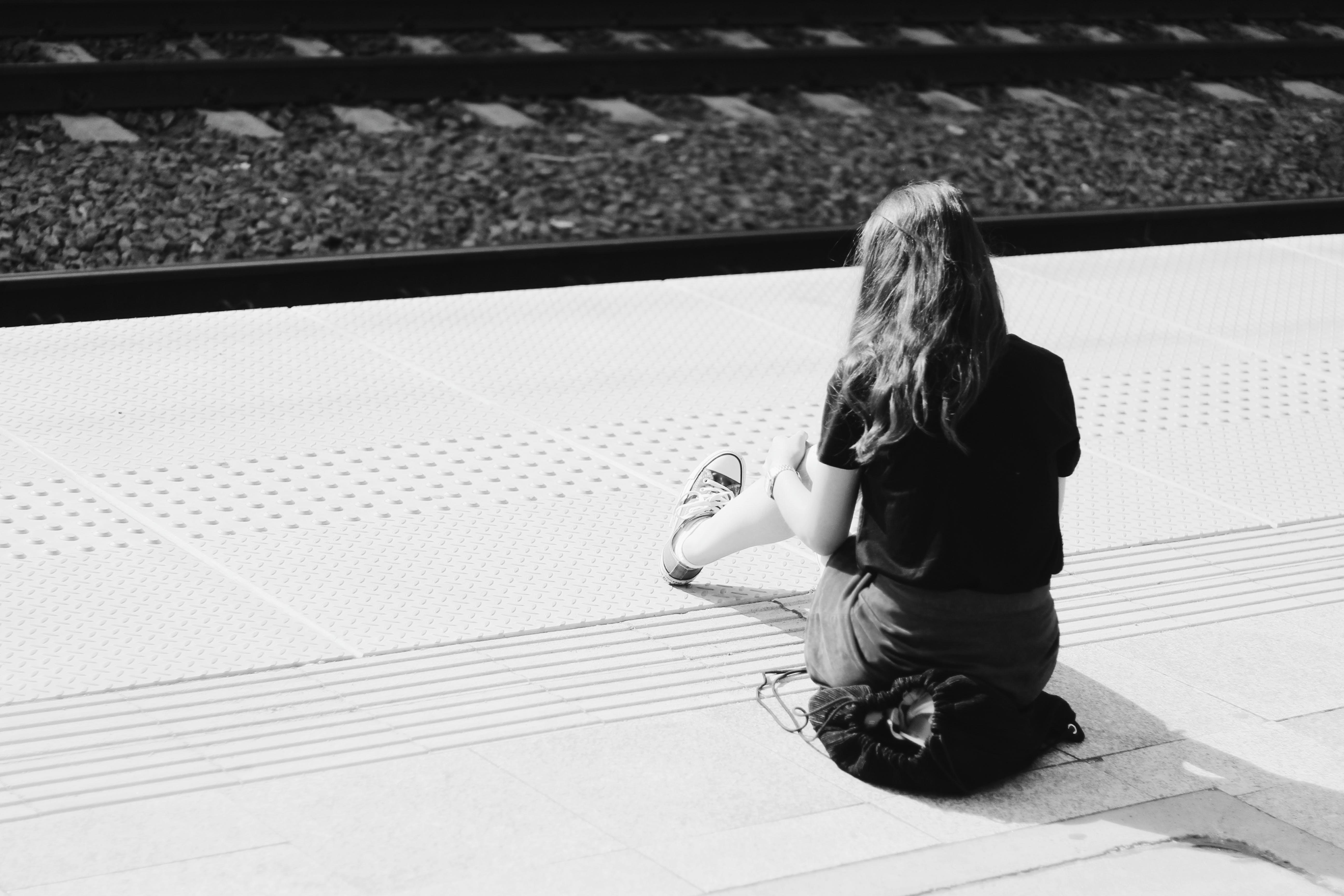 Free stock photo of train, alone
