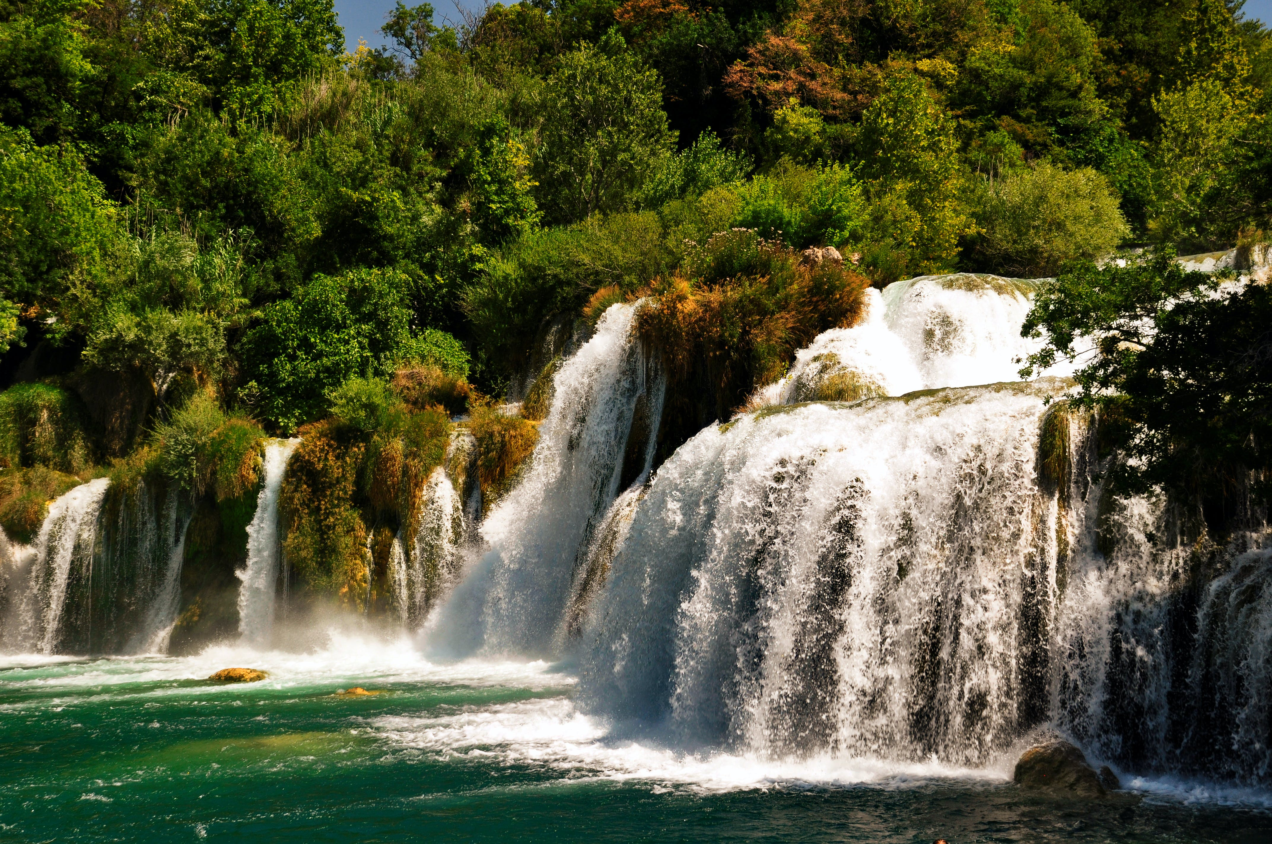 Landscape Photography of Water Falls