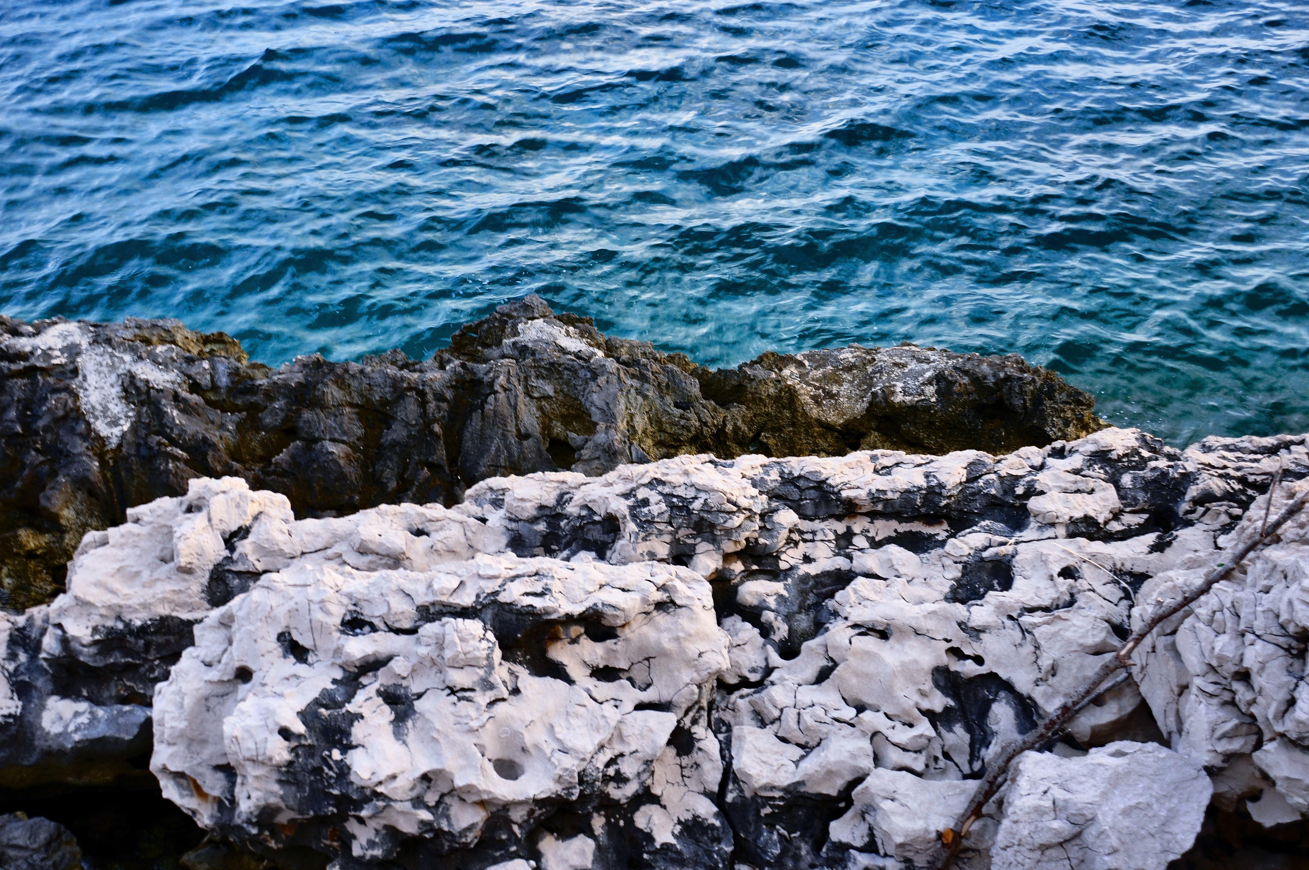 Free Stock Photo Of Deep Ocean Rocks