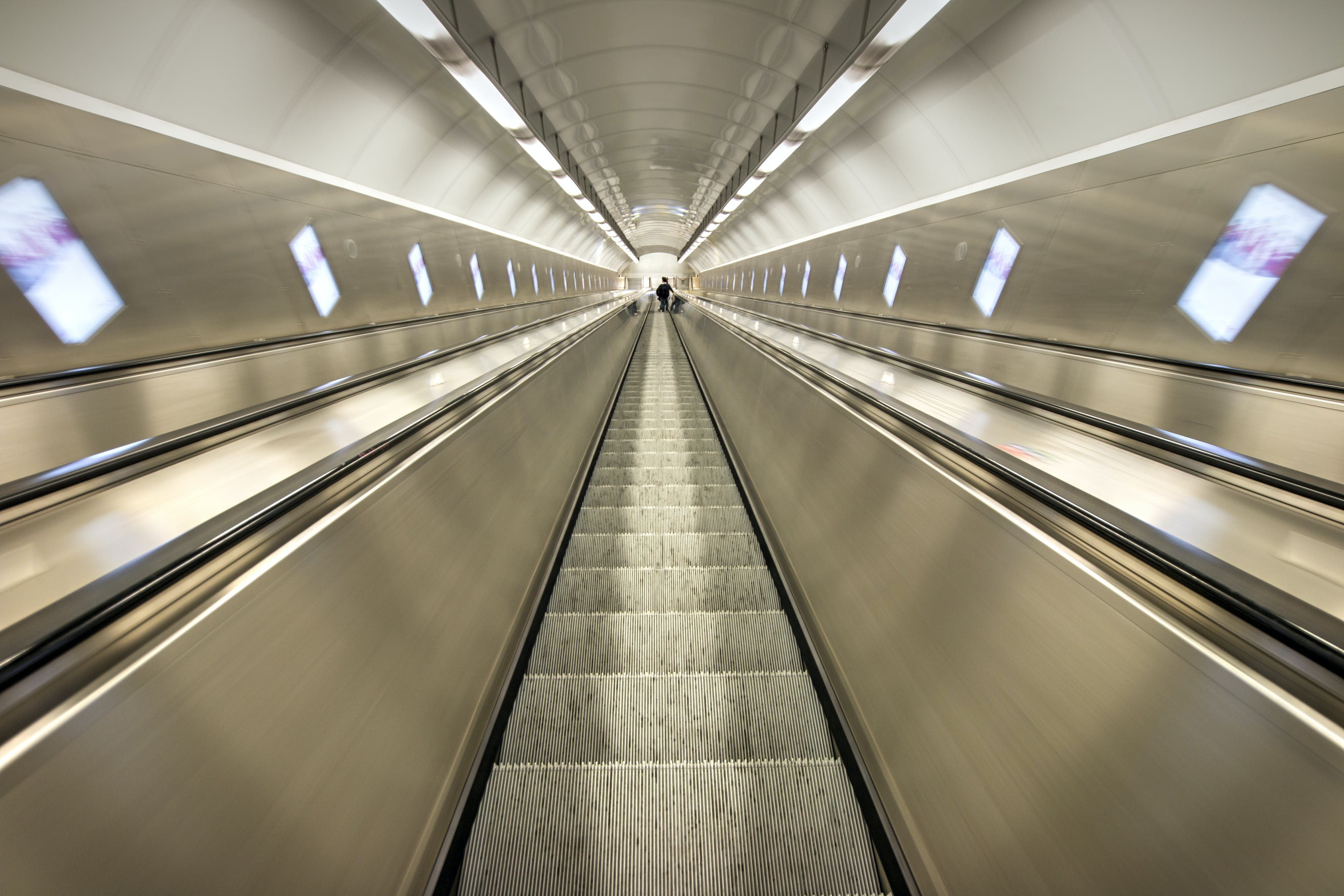 Grey Escalators