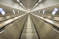tunnel, escalator, tube