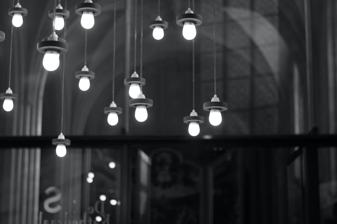 heijastus, lamppu, lamput