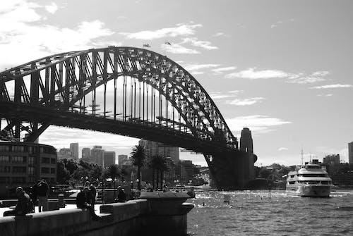 Fotos de stock gratuitas de puente, Puente de la bahía de Sídney, puerto