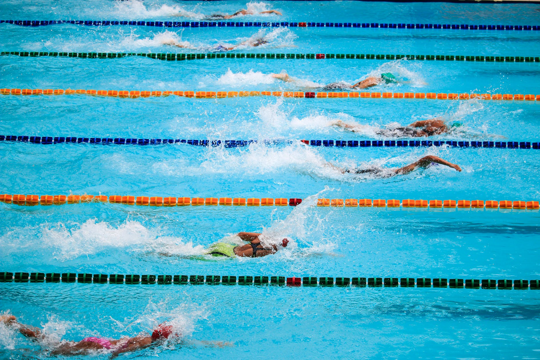 weight loose swimming