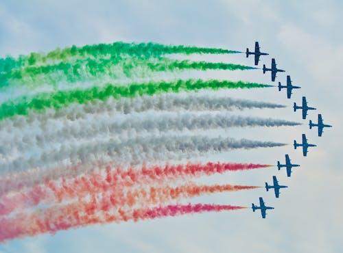 Fotos de stock gratuitas de aviones, colores