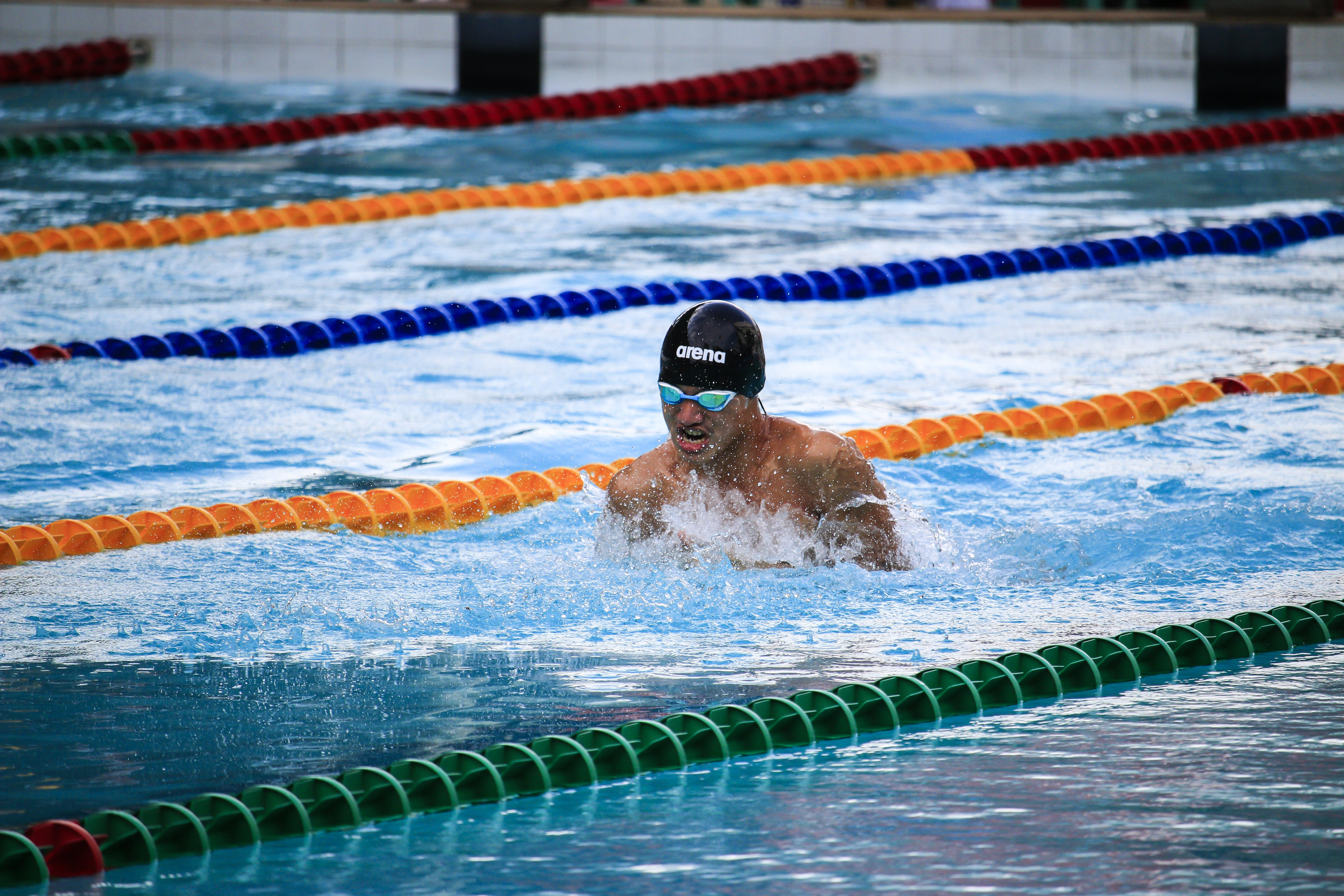Swimmer on Pool