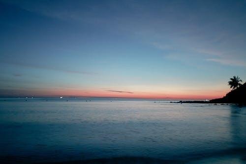 和平的, 天際線, 日落, 海灘 的 免费素材照片