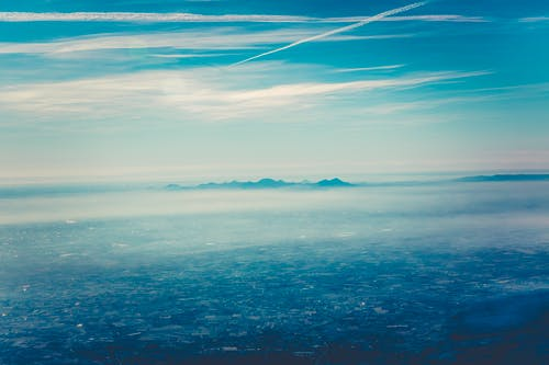 Darmowe zdjęcie z galerii z chmury, góry, jasny, kolor