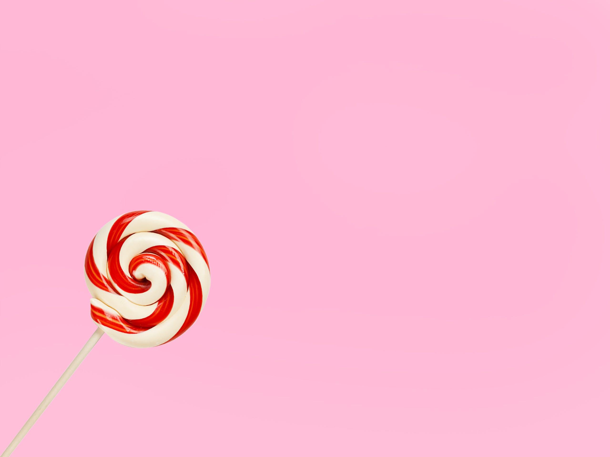 Foto d'estoc gratuïta de Caramel, Chupa-chups, color, disseny