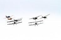 flight, sky, aviation