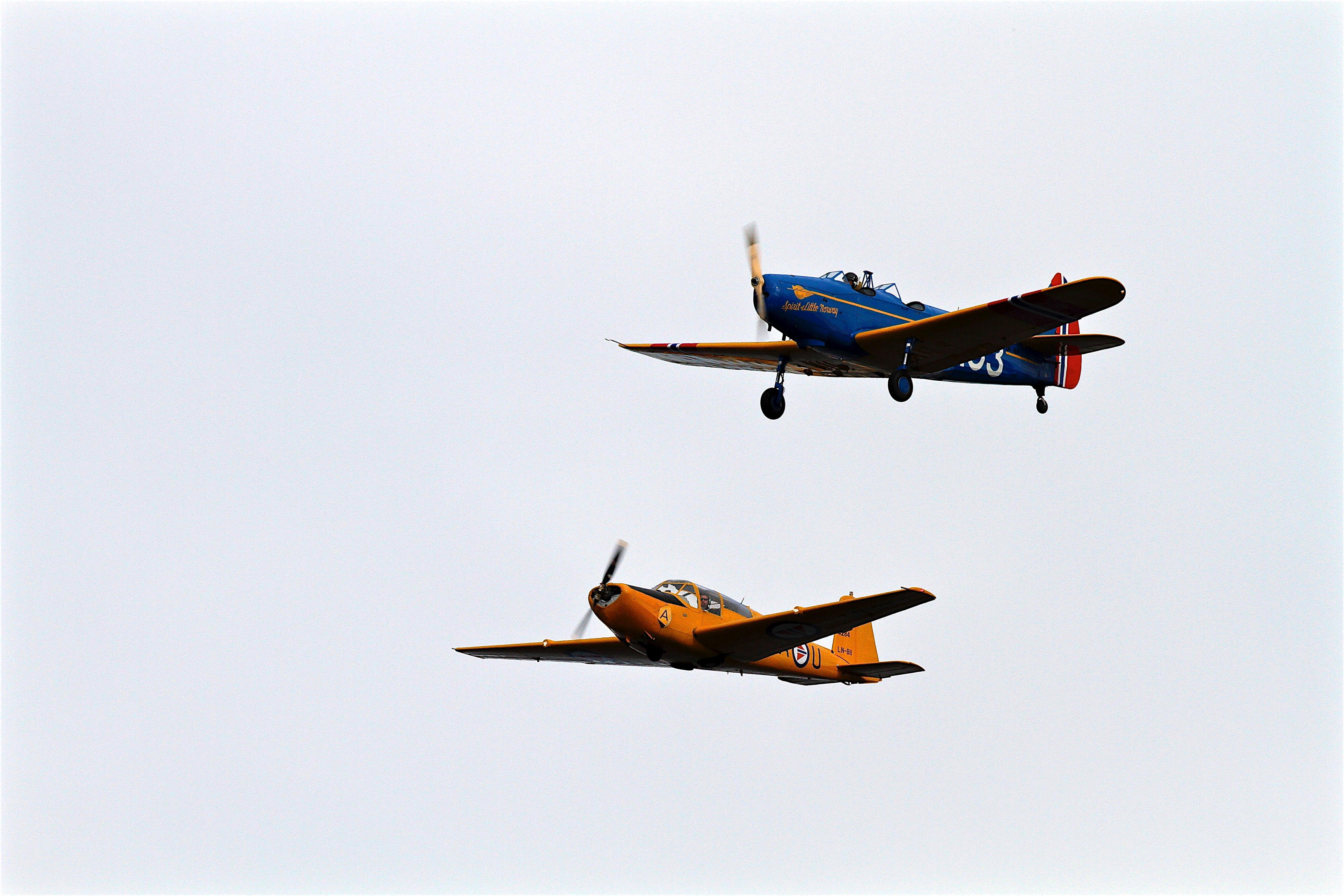 Kostenloses Stock Foto zu flug, flugzeuge, himmel, luftfahrt