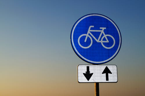 Bicycle Crossing Signage