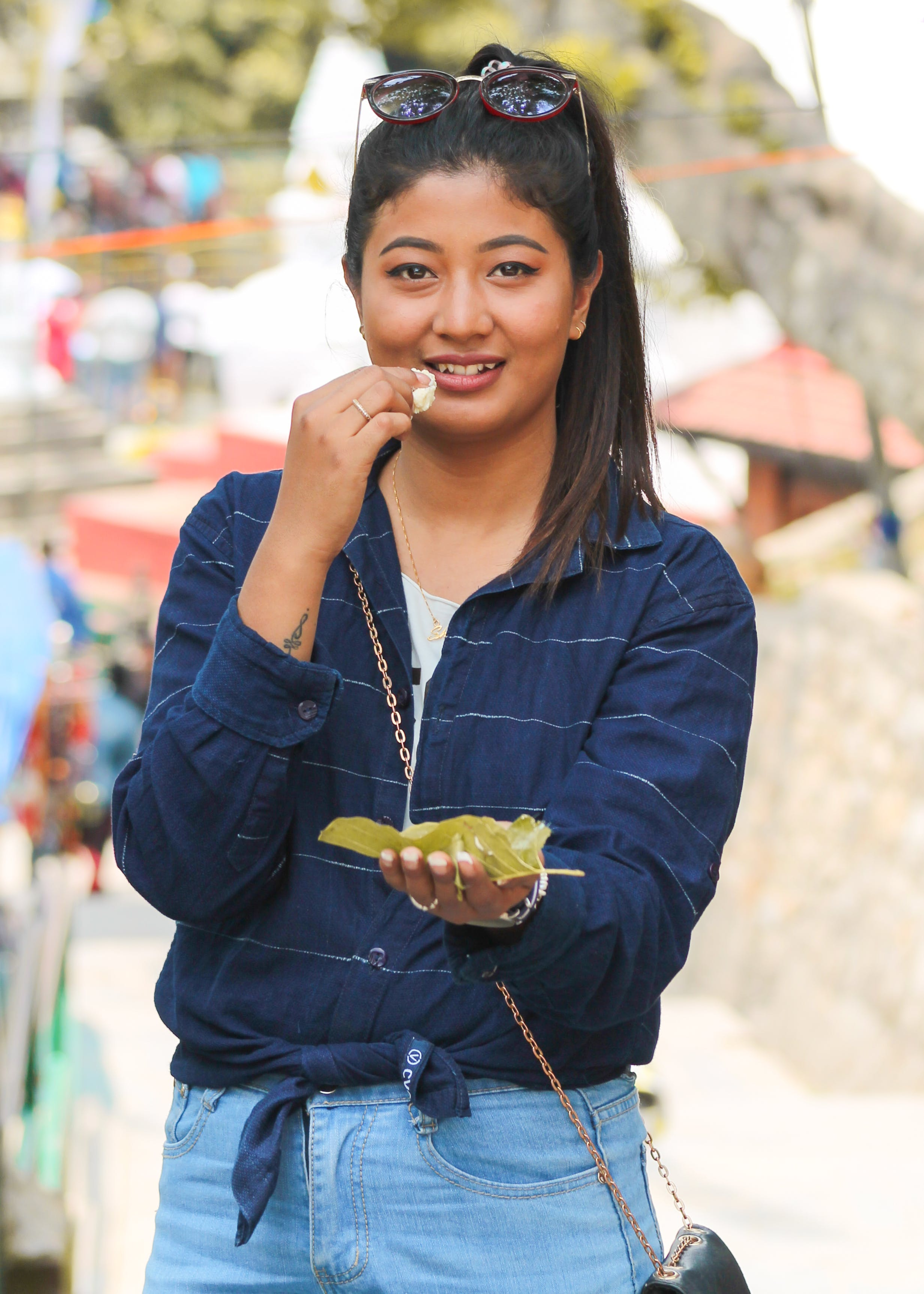 Photography of Woman Eating