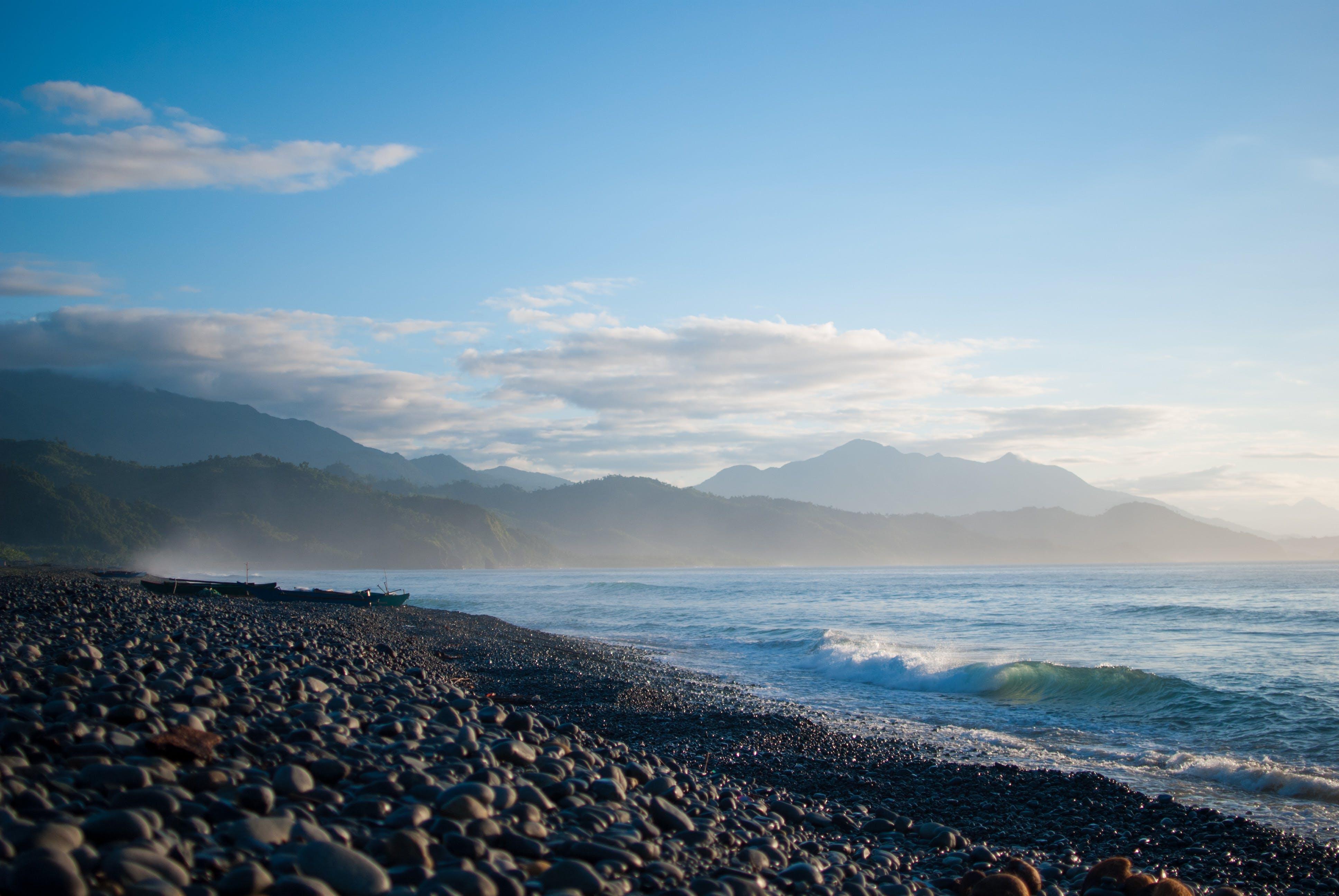 Free stock photo of asia, beach, blue, coffee