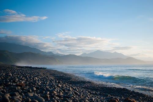 Бесплатное стоковое фото с Азия, восход, галечный пляж, галька