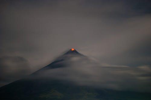 Бесплатное стоковое фото с Азия, вулкан, действующий вулкан, длинная экспозиция