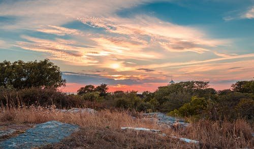 HDR, 傍晚的太陽, 夏天, 夏季 的 免费素材图片
