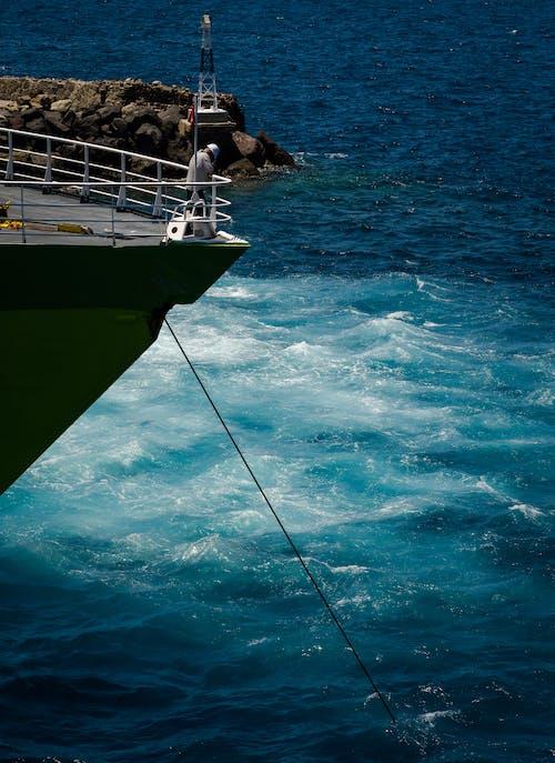 Darmowe zdjęcie z galerii z czas wolny, fale, głębokie morze, kotwica