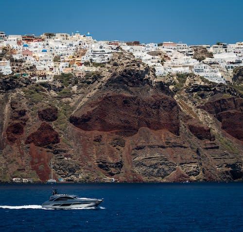 Základová fotografie zdarma na téma cestovní ruch, člun, destinace, dovolená
