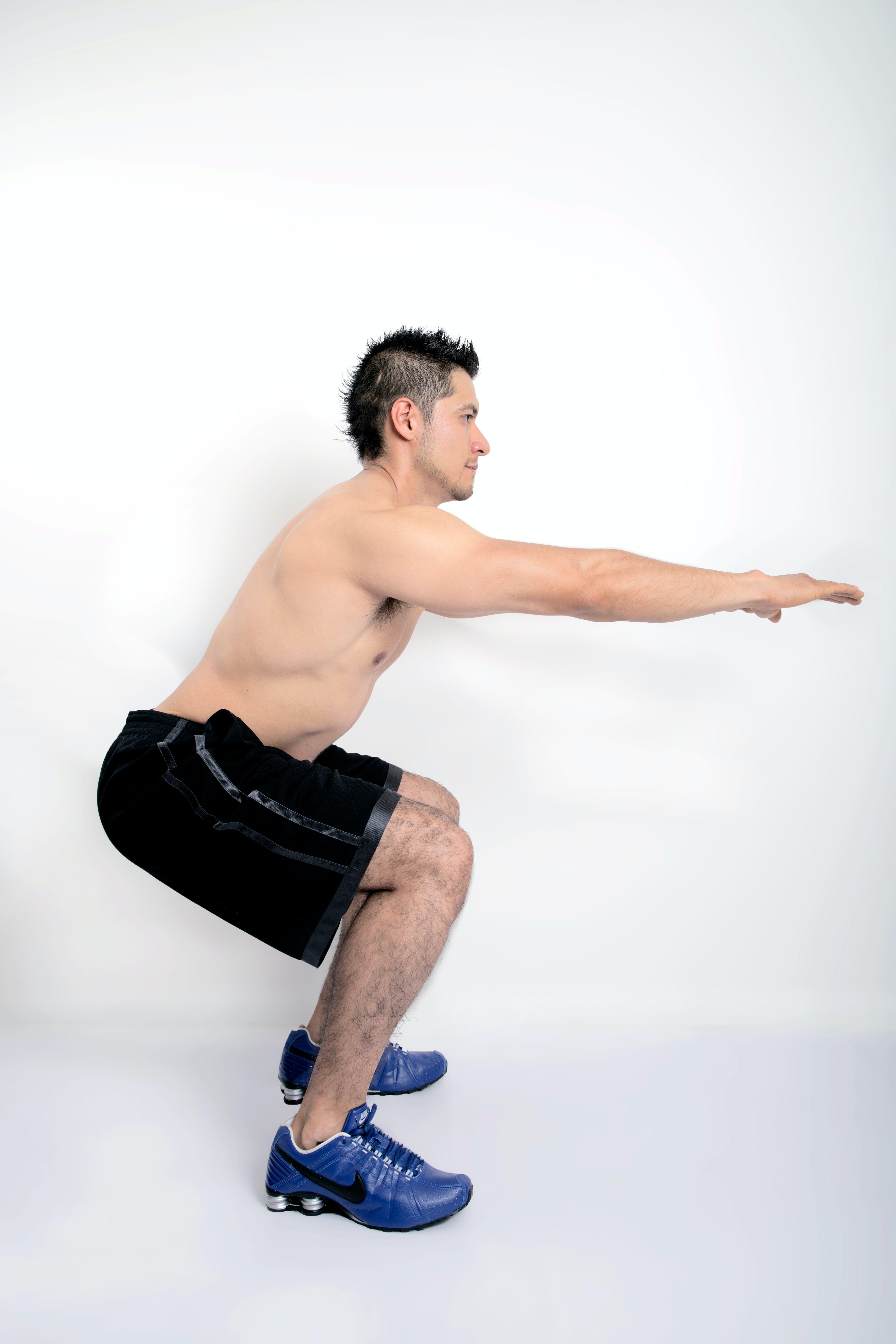Kostenloses Stock Foto zu fitness, mann, model, ohne hemd