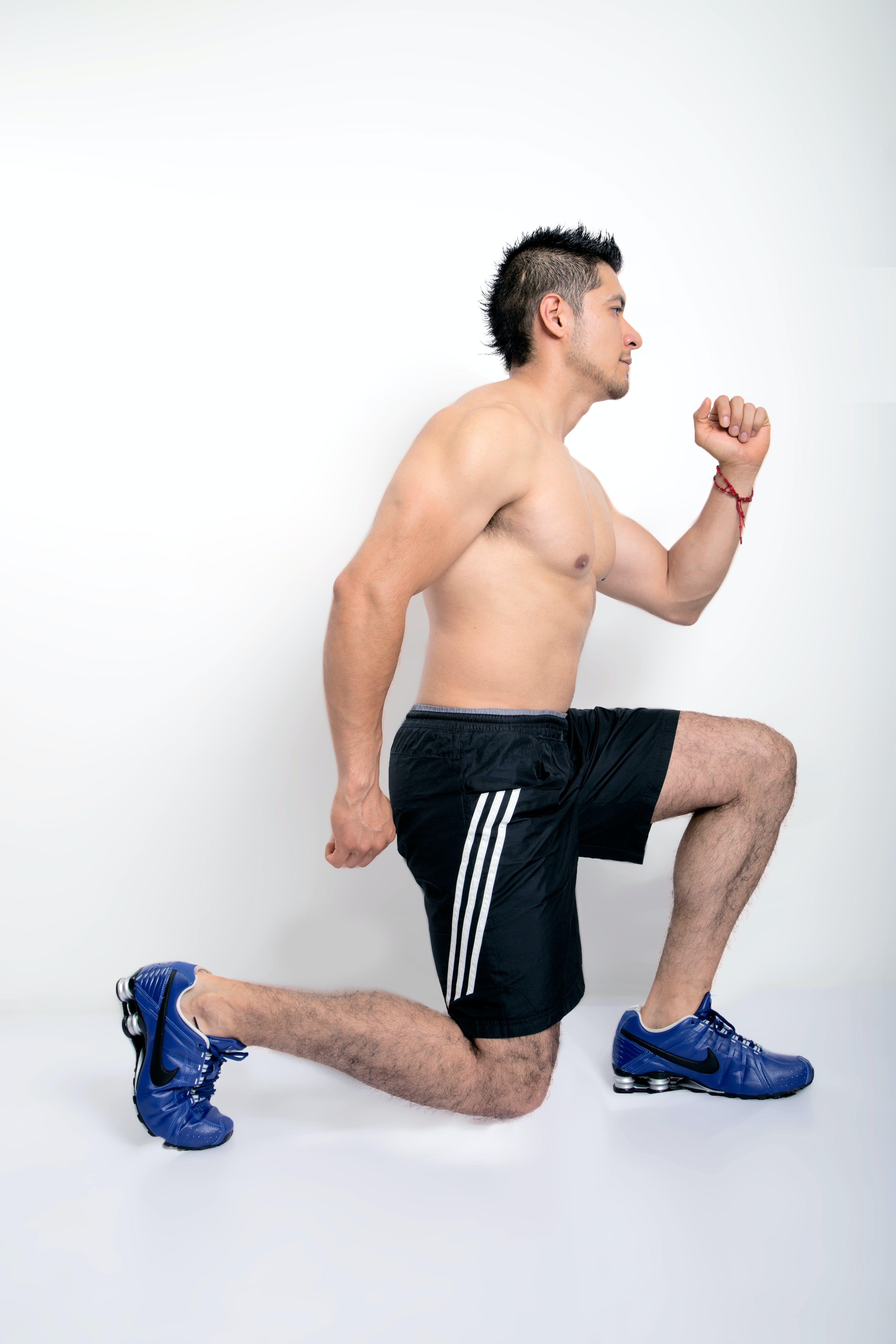 Kostenloses Stock Foto zu desplantes, ejercicio, fitness, lunges