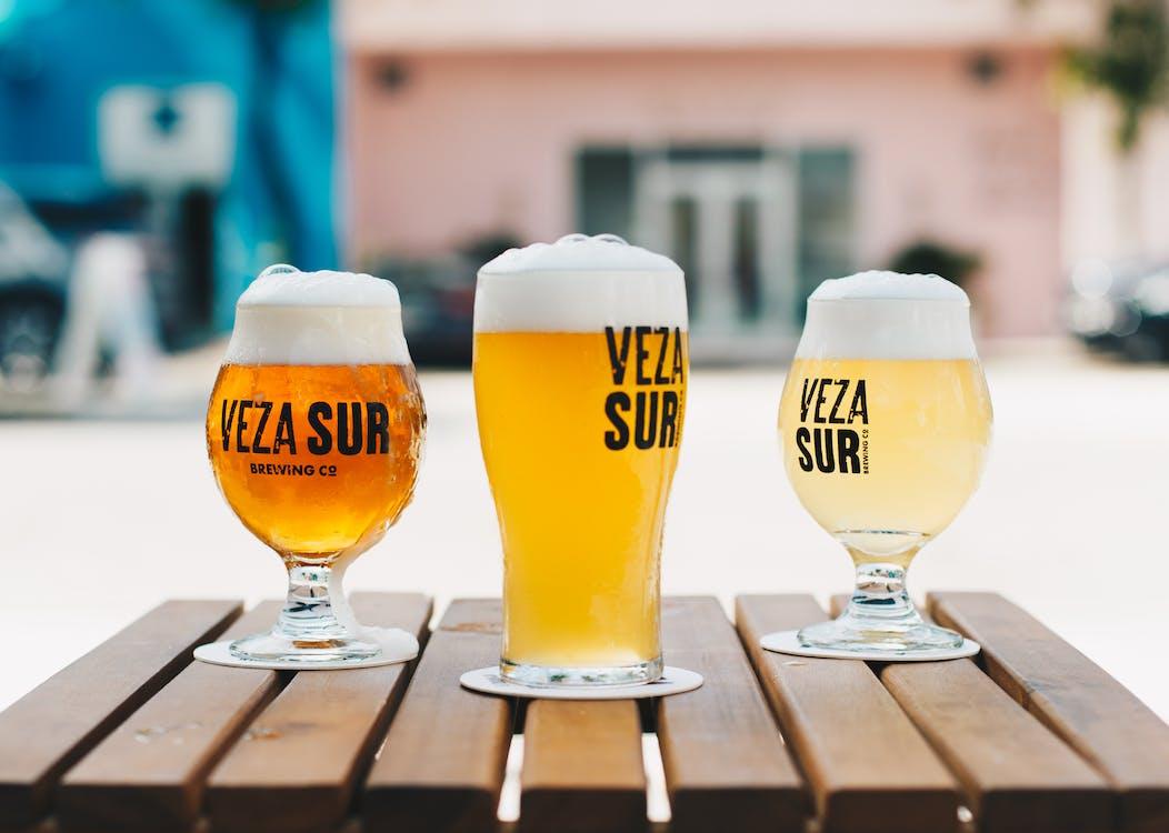 alcool, bière, bière blonde