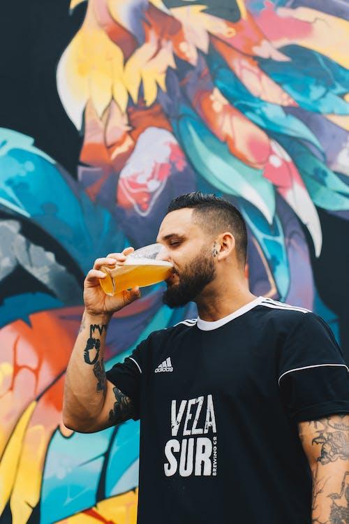 Kostnadsfri bild av ale, alkohol, alkoholhaltig dryck, ansiktshår