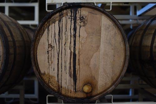 Základová fotografie zdarma na téma barel, buben, dělání vína, dřevěný