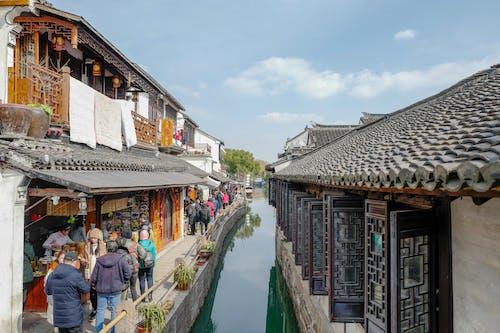 Foto profissional grátis de água, ao ar livre, arquitetura, Arquitetura asiática