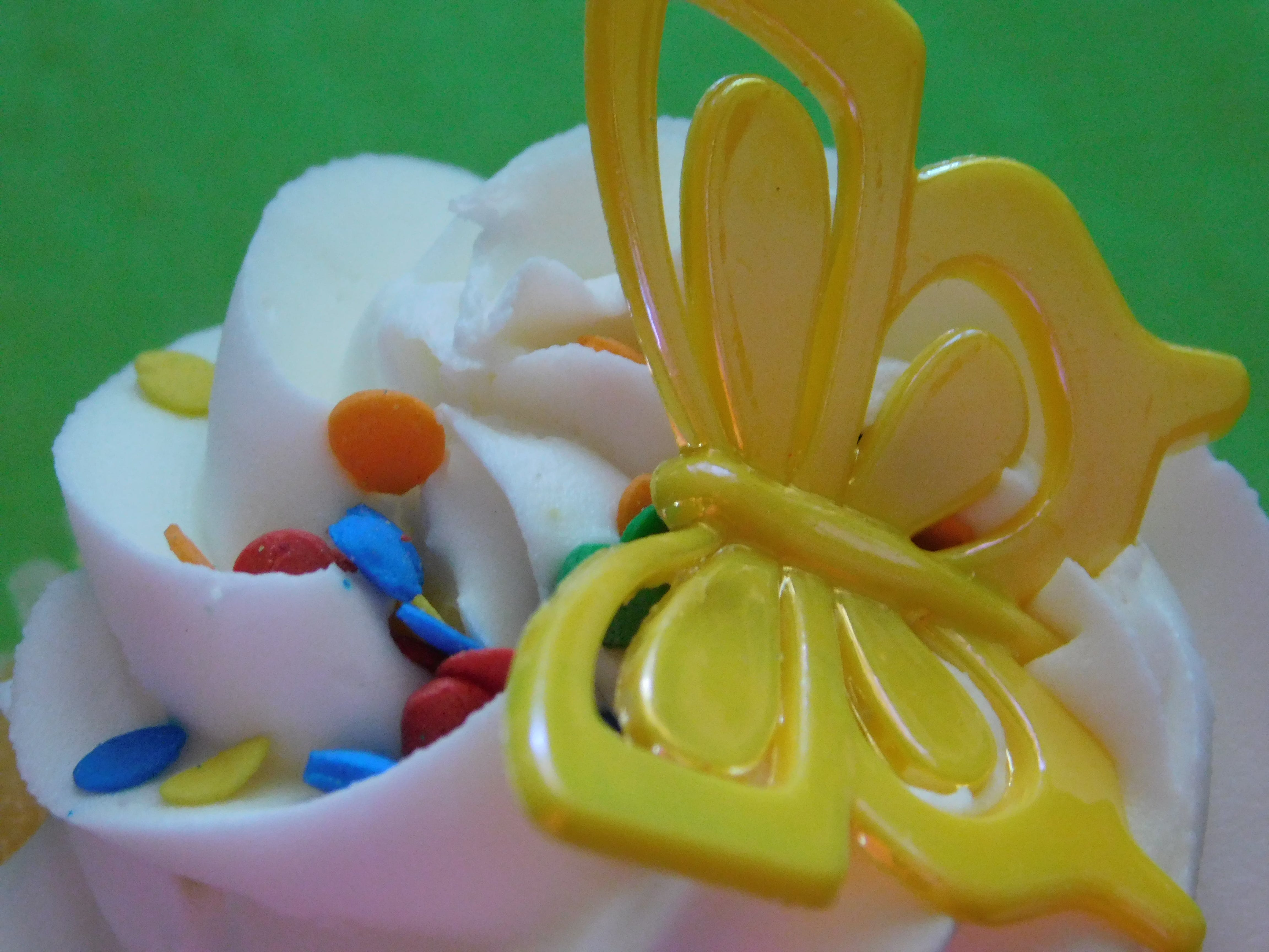 Free stock photo of butterfly, cupcake, d, essert