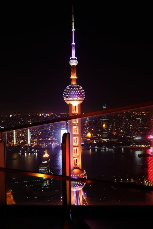 Ảnh lưu trữ miễn phí về ánh đèn thành phố, các tòa nhà, cảnh quan thành phố, chiếu sáng