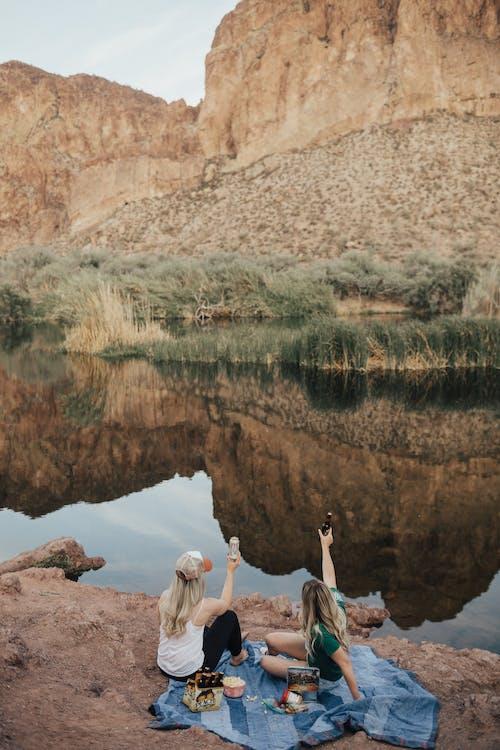 Gratis lagerfoto af bjerg, dagslys, folk, geologi