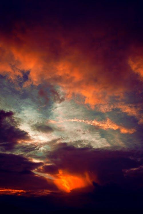 Free stock photo of colors, evening sun