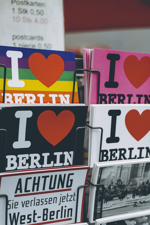 Immagine gratuita di berlino, cartoline, commercio, illustrazione