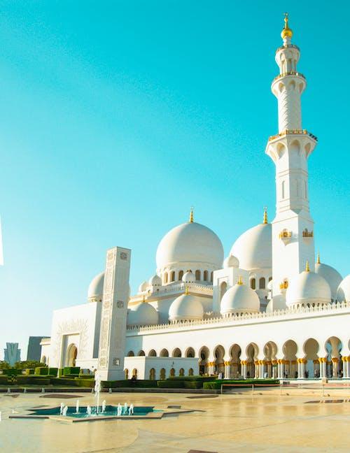 Ảnh lưu trữ miễn phí về abu dhabi, nhà thờ Hồi giáo, nhà thờ hồi giáo lớn, ramadan