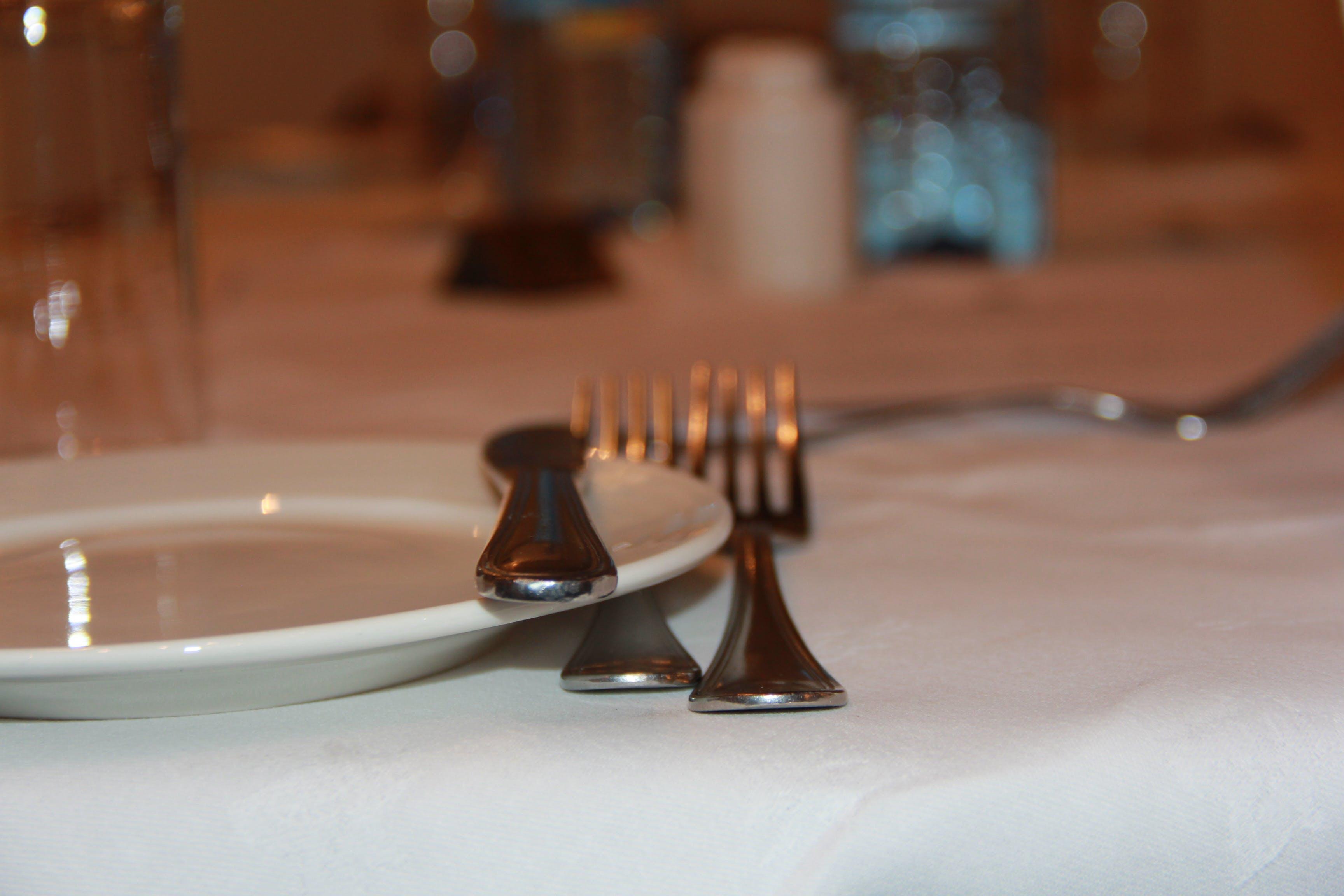 Kostnadsfri bild av dinningset, gafflar, hunger, middag