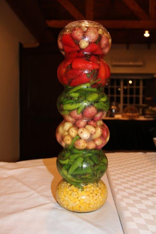 Fotos de stock gratuitas de atractivo, comida, cristal, mesa de postres