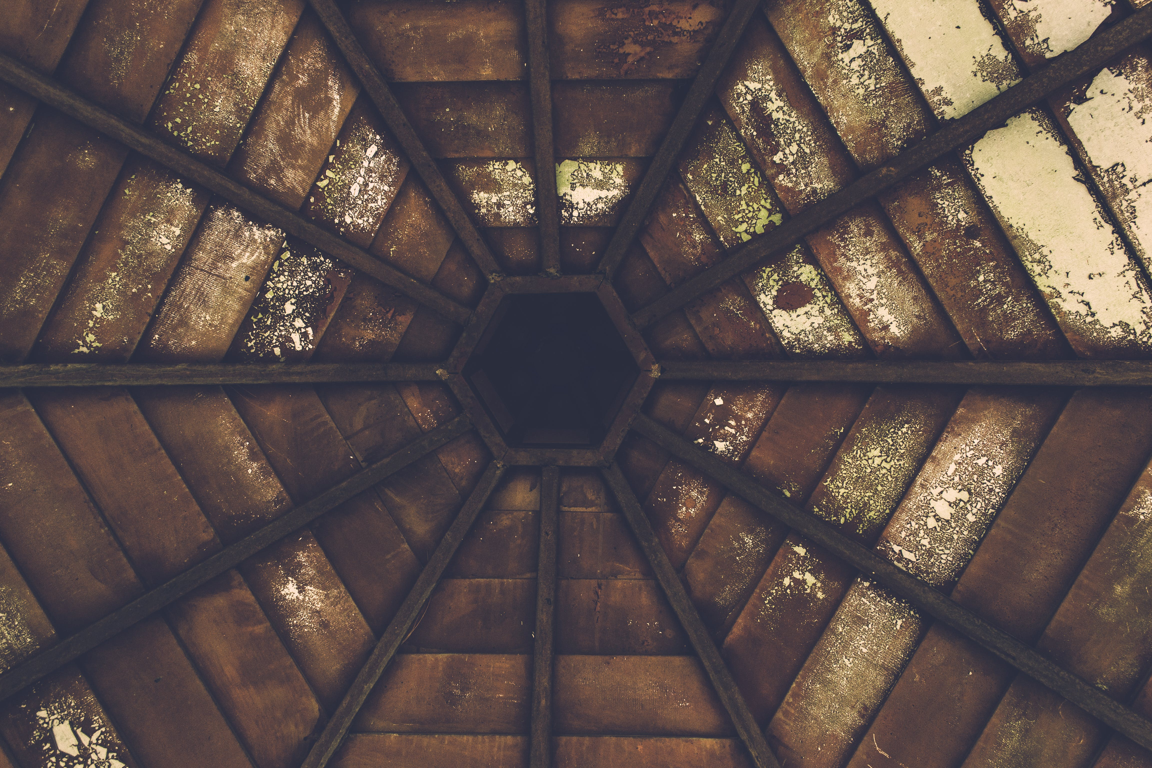 Brown Glass Roof