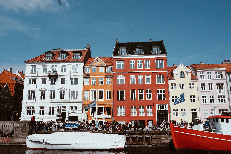 Free stock photo of boats, architecture, europe, copenhagen