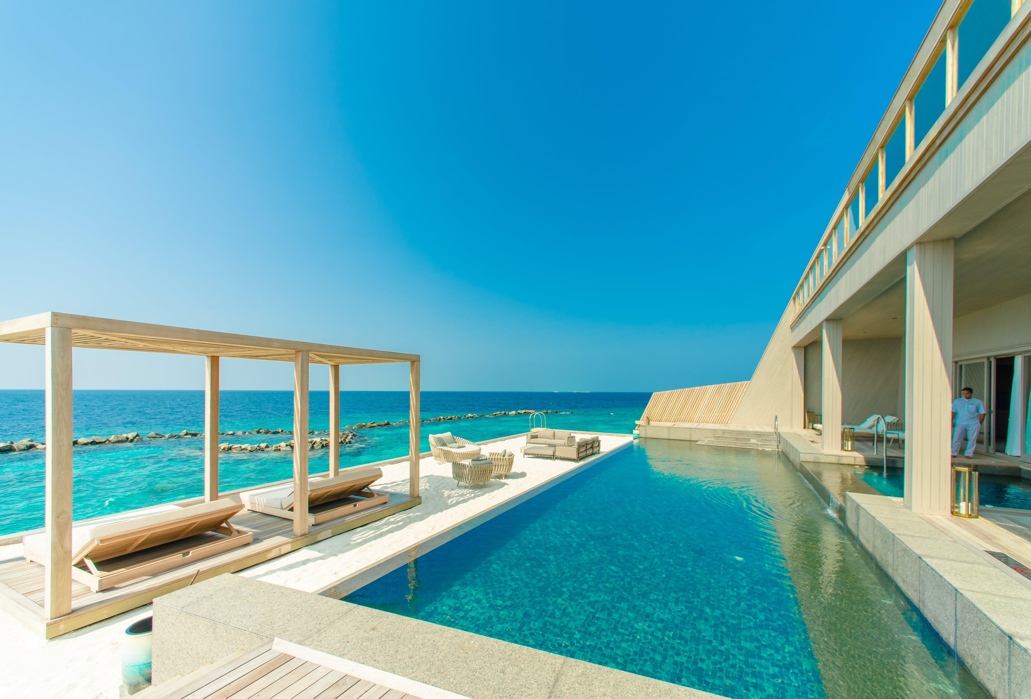 Kostenloses Stock Foto zu badeort, einbaum-pool, küste, landschaft