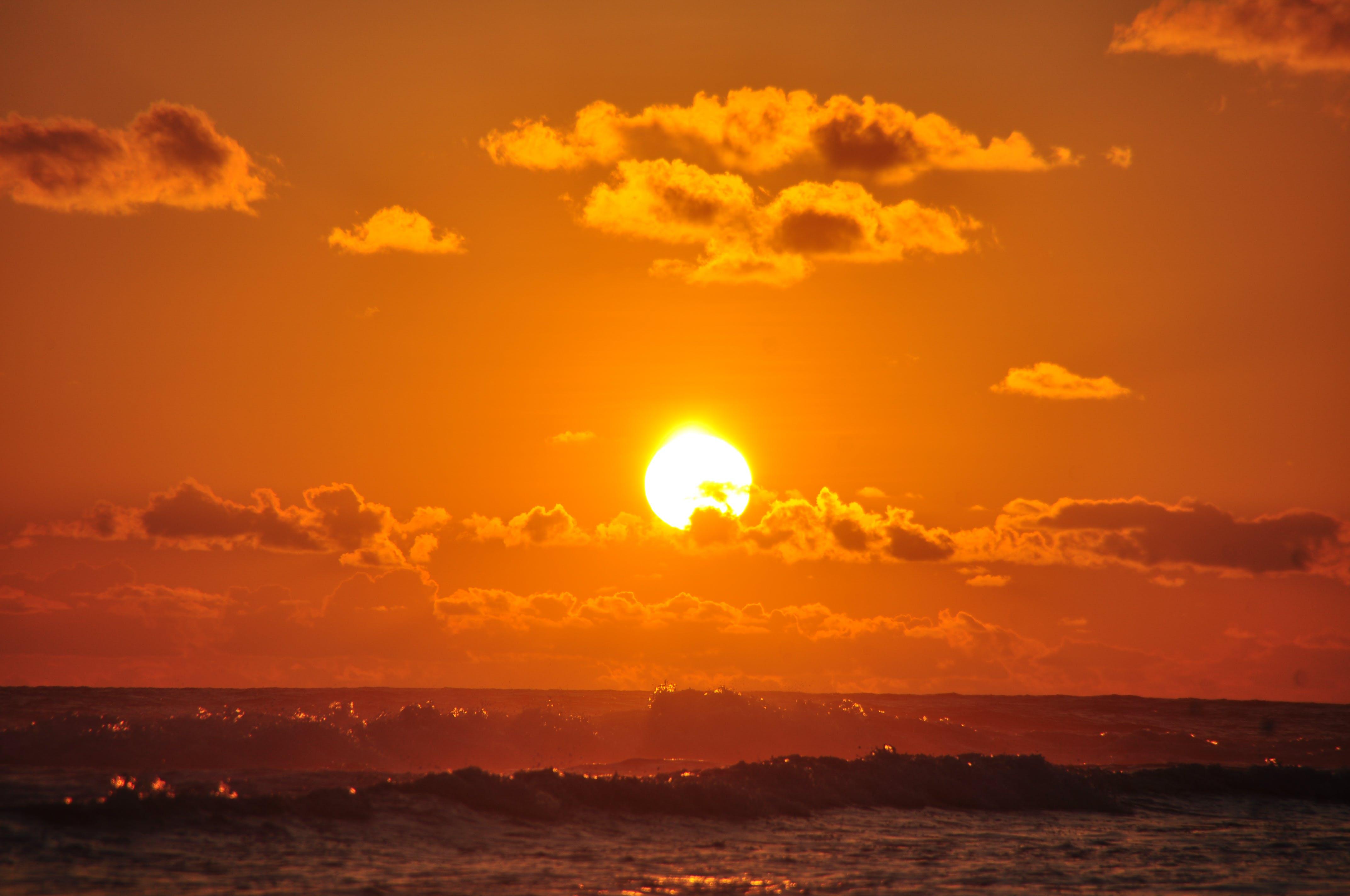 Kostenloses Stock Foto zu dämmerung, dramatisch, goldene stunde, himmel